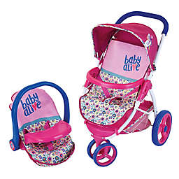 Hauk Baby Alive Baby Doll Travel Stroller Car Seat