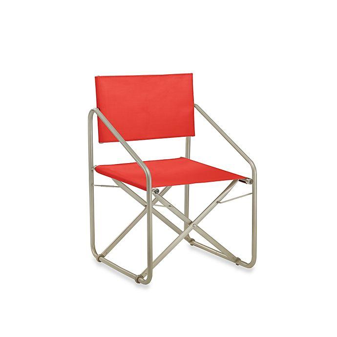539da9702160 Brown Jordan Nomad II Folding Armchair