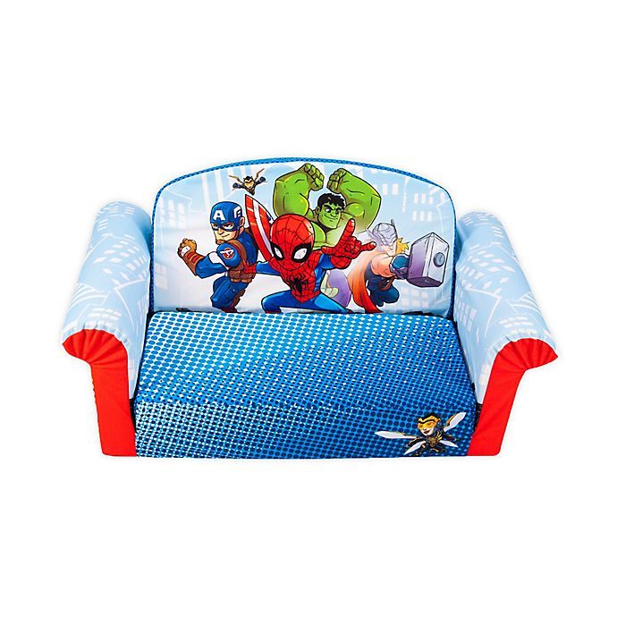 Alternate image 1 for Marshmallow Fun Company Marvel Super Hero Kid's Chair
