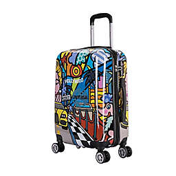 InUSA Prints Hollywood 20-Inch Hardside Spinner Carry On Luggage