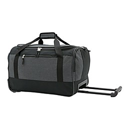 Salt 20-Inch Rolling Duffle Bag in Black