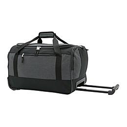 Salt 20-Inch Rolling Duffle Bag in Black