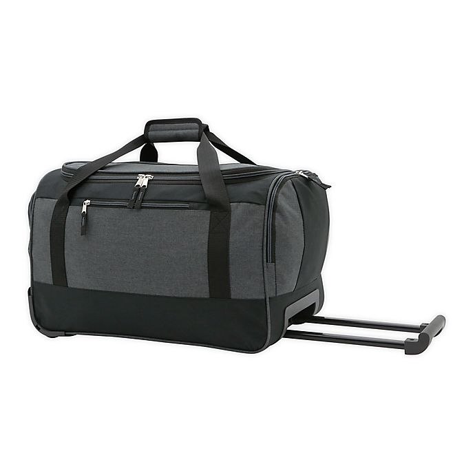 Alternate image 1 for SALT™ 20-Inch Rolling Duffle Bag in Black