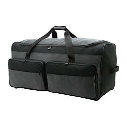 Salt 36-Inch Extra-Large Rolling Duffle Bag in Black