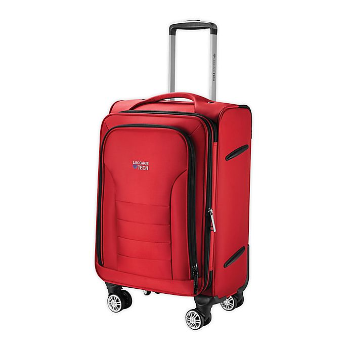 Alternate image 1 for Luggage Tech® Melbourne 20-Inch Smart Spinner Carry On Luggage