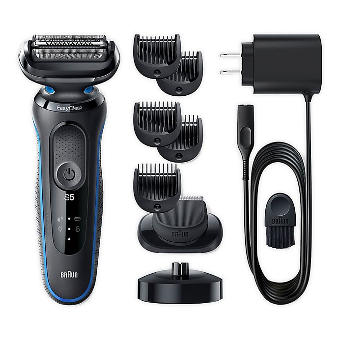 Alternate image 1 for Braun® Series 5 5049cs Easy Clean Electric Shaver in Blue