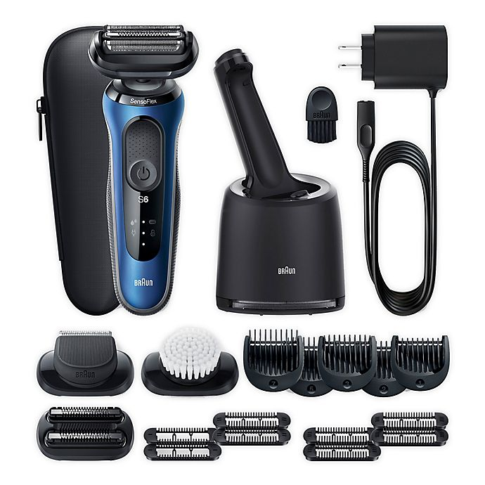 Alternate image 1 for Braun® Series 6 Electric Razor for Men with SensoFlex Swivel Head