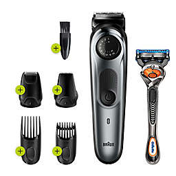 Braun® BT7220 Beard & Hair Trimmer in Black/Green