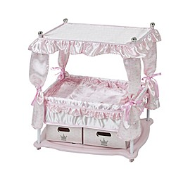 Hauck Princess Pink Baby Doll Bed