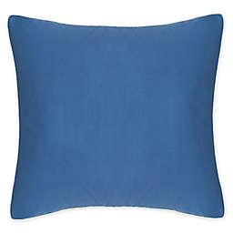 Frette At Home Post Modern European Pillow Sham in Blue/White