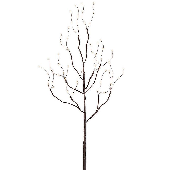 Alternate image 1 for Everlasting Glow 39-Inch LED Lighted Branch in Brown