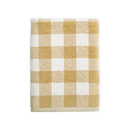 Bee & Willow™ Home Gingham Dobby Bath Towel in Tan