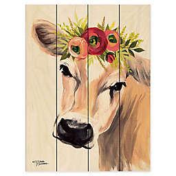 Courtside Market® Jersey Cow Wood Pallet Wall Art