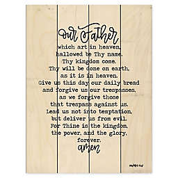 Courtside Market® Lord's Prayer 20-Inch x 16-Inch Wood Pallet Wall Art