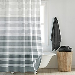 DKNY Highline Stripe Shower Curtain Collection