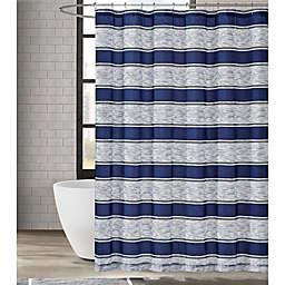 London Fog® Watkins Stripe Shower Curtain