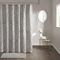 Madison Park Odette Jacquard Shower Curtain