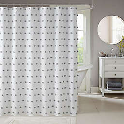 Madison Park Sophie Shower Curtain in Grey