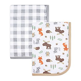 Hudson Baby® 2-Pack Muslin Swaddle Blankets