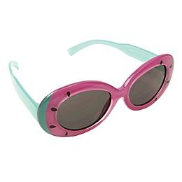 On The Verge Kids Watermelon Shape Sunglasses in Purple/Green