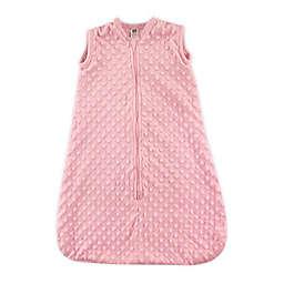 Hudson Baby® Size 12-18M Dotted Plush Sleeping Bag in Pink