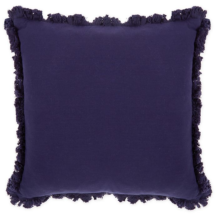 Alternate image 1 for Wamsutta® Norwich Square Throw Pillow in Blue