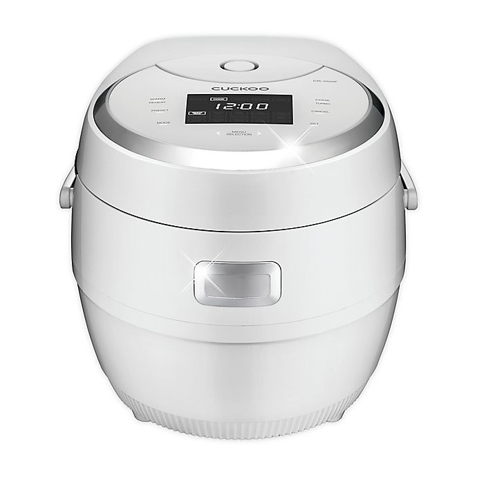 Alternate image 1 for Cuckoo Micom Multifunctional 10-Cup Rice Cooker in White