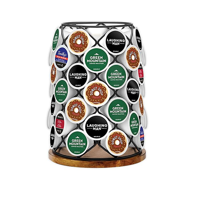 Alternate image 1 for Keurig® K-Cup® Pod Wood & Wire Carousel