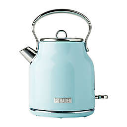 Haden Heritage 1.7-Liter Electric Kettle in Turquoise
