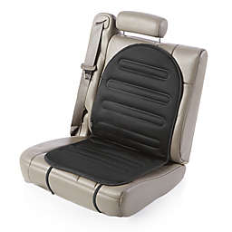 Heated Car Seat Cushion with Temperature Control in Black