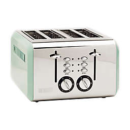 Haden Cotswold 4-Slice Toaster in Sage Green
