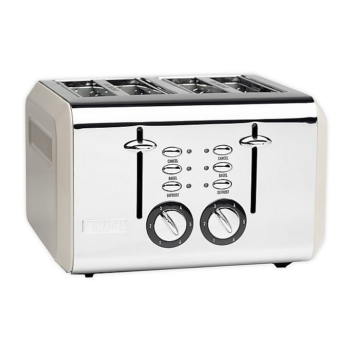 Alternate image 1 for Haden Cotswold 4-Slice Toaster in Putty Beige