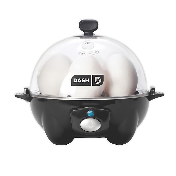 Alternate image 1 for DASH® Rapid Egg Cooker in Black