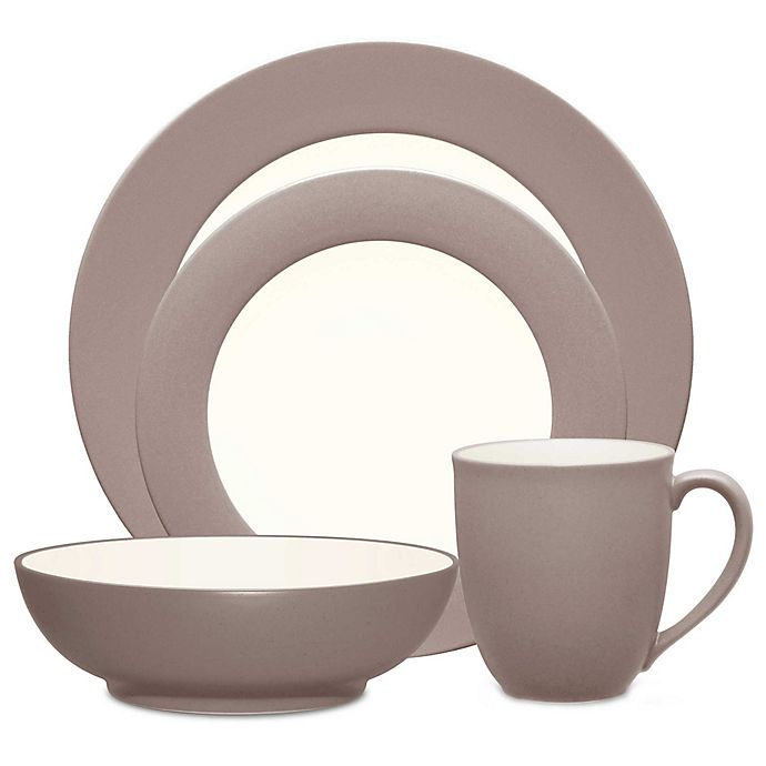 Alternate image 1 for Noritake® Colorwave Rim 4-Piece Place Setting