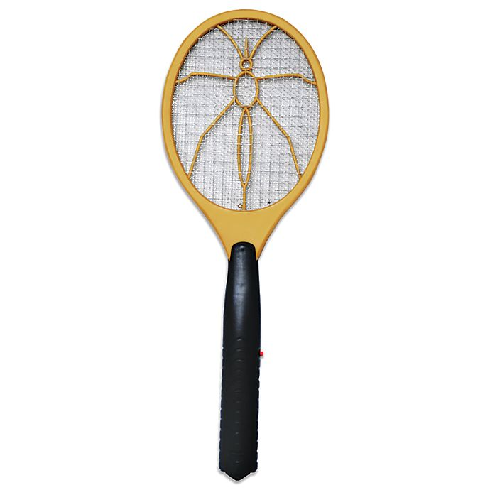 Alternate image 1 for Electronic Bug Zapper Racket