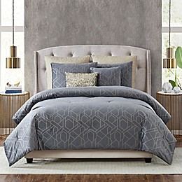 5th Avenue Lux® Madison 7-Piece Comforter Set in Grey