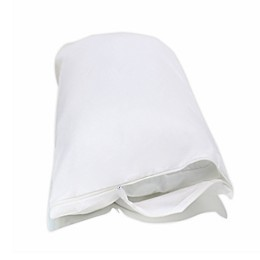 Under The Canopy® Organic Cotton 30-Inch European Pillow Covers in White (Set of 2)