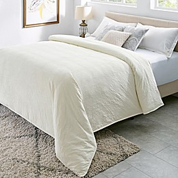BlanQuil Royale Weighted Comforter in Ivory