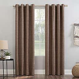 Sun Zero® Kline 84-Inch Grommet Window Curtain Panel in Russet (Single)