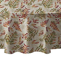 Harvest Fern 70-Inch Round Tablecloth