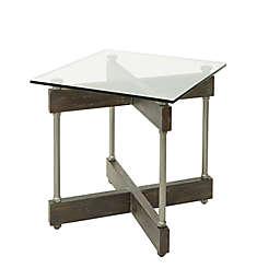 Silverwood Garth End Table in Brown