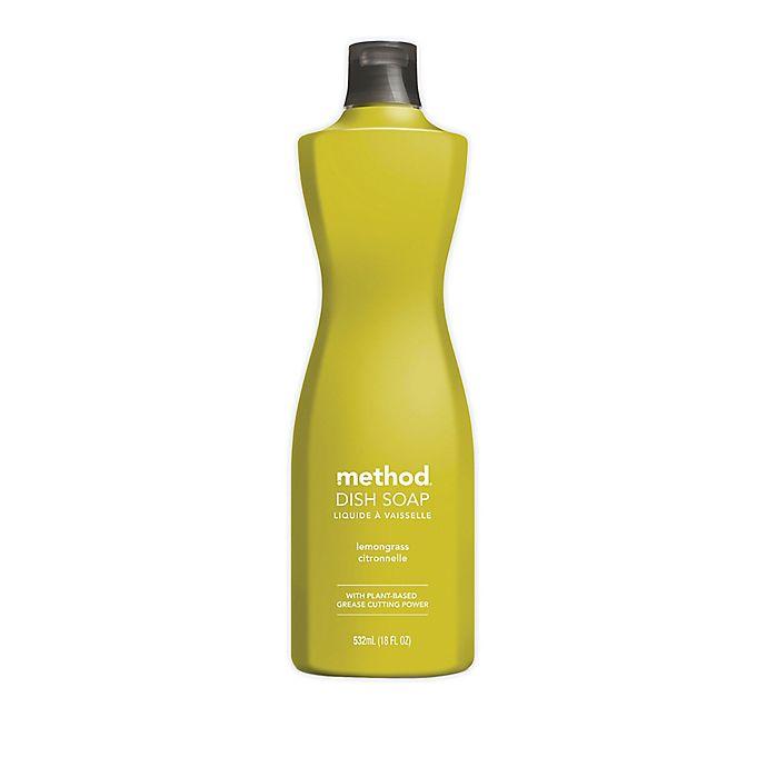 Alternate image 1 for Method® 18 fl. oz. Lemongrass Liquid Dish Soap