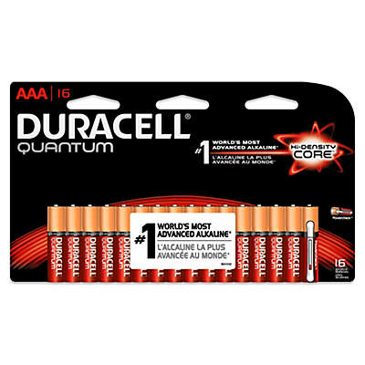 Duracell Quantum 16-Pack AAA Batteries