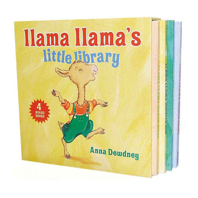 Alternate image 1 for Llama Llama's Little Library Board Book Set