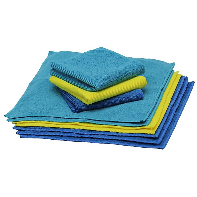 Alternate image 1 for Schroeder & Tremayne The Original™ Microfiber 10-Pack Cleaning Cloths
