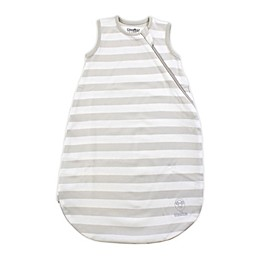 Woolino® Striped Organic Cotton Wearable Blanket