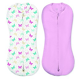 SwaddleMe® Small 2-Pack Free to Fly Butterflies Pod Swaddles