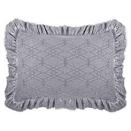 Wamsutta® Vintage Clermont Standard Pillow Sham in Dark Grey