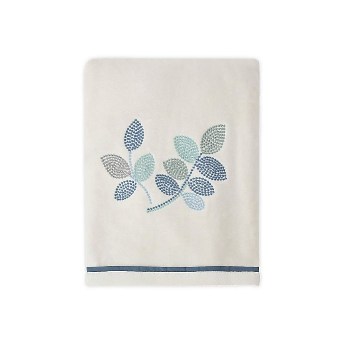 Alternate image 1 for Croscill® Mosaic Leaves Bath Towel in Spa