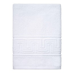 Now House by Jonathan Adler Gramercy Bath Towel in White